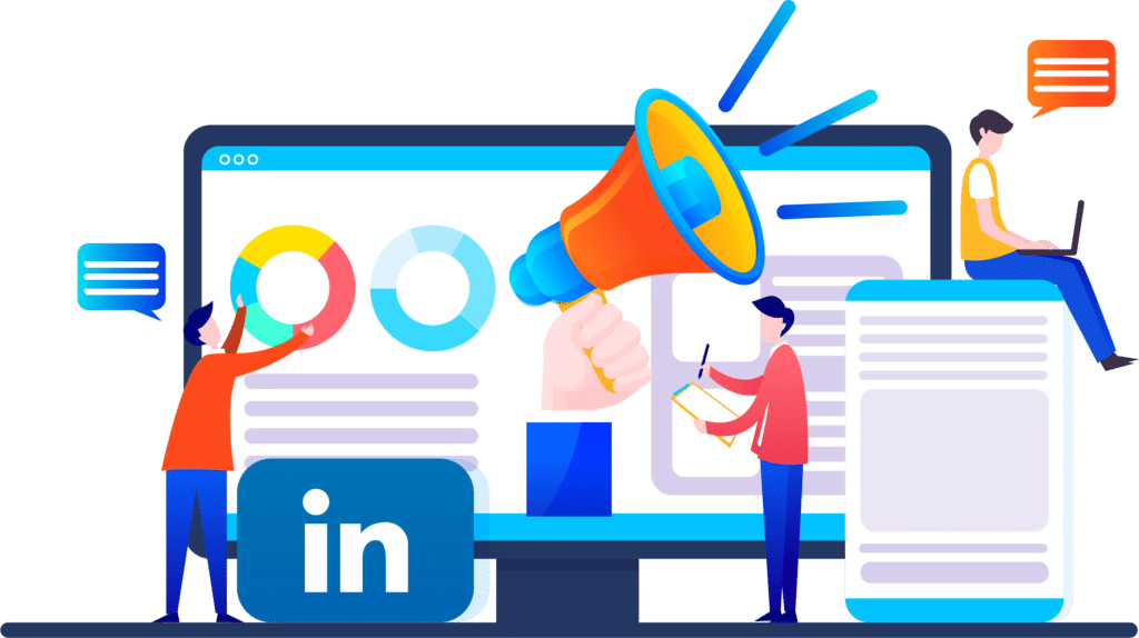 linkedin marketing services - Triffid marketing Ahmedabad, India